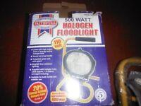 Faithfull Portable Sitelight 500 Watt 110 Volt