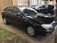 NISSAN ALMERA S 1.5 2002 with ONLY 48,000 mls and 1 owner CHEAP !!!!!!
