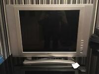"Silver 20"" Digix Flat screen TV/Computer Monitor"