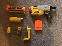Nerf recon ( has no scope or darts )