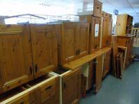 Wooden kitchen units & worktop