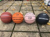 Dunlop and carbrini basket balls!