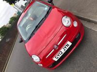Fiat 500 POP Red