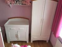 Baby changer and wardrobe