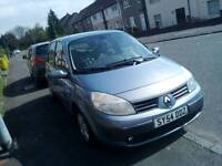 Renault Scenic 54 plate Auto may swap