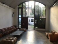 OFFICE SPACE AVAILABLE - including a cafe, event space, summer rooftop, gym and photography studio