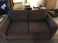 Sofa - Brown, Fabric