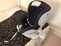 Britax Dualfix rotating child car seat