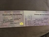 FOR SALE: Two tickets to see The Overtones