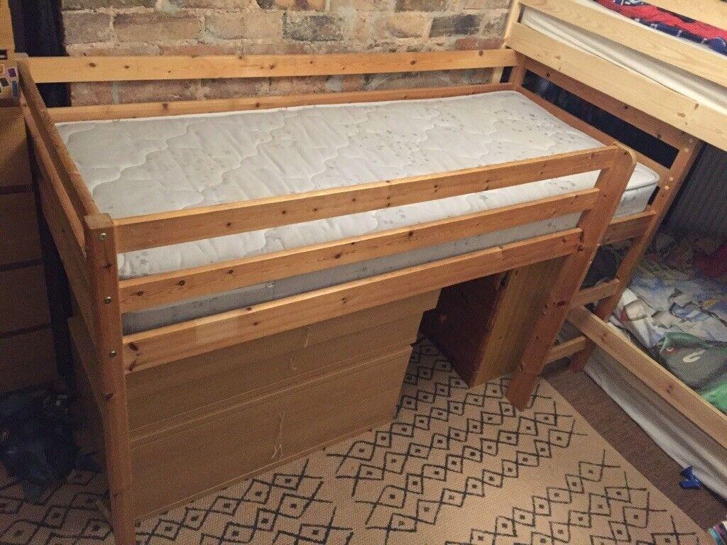 Small single mid sleeper kids cabin bed | in Telford ...