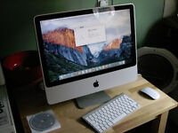iMac for sale with wireless keyboard and mouse