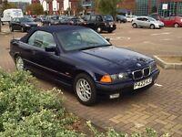 1997 BMW 328i E36 Cabriolet 88,000 miles original$1695 ono London