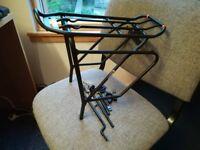 """Bike rear pannier rack - """"Ibera PakRak Bicycle Touring Carrier..."""""""