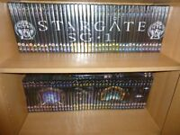 Huge collection of Stargate DVDs