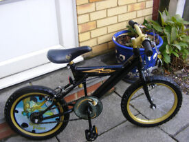 """HARRY POTTER 16"""" WHEEL BIKE HARDLY BEEN USED AGE 5+ GREAT CONDITION"""