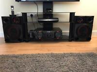 CM8360 2200w mini system with dj effects and dj pro