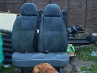 Selling my ford crew van or mini bus chair