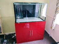 Marine tank and sump