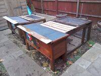 Rabbit hutch's for sale