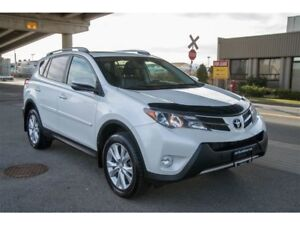 2015 Toyota RAV4 Limited Fully Loaded AWD Free Snow Tire Package