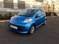 2007 Peugeot 107 5 door automatic, only 43,000 miles! £20 tax