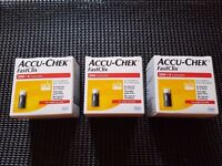 Accu-Chek FastClix 200+4 Lancets 200 Strips