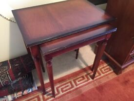 Nest of two tables - good condition