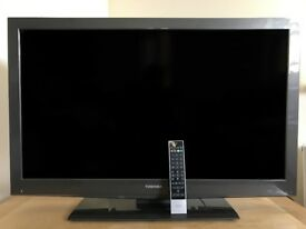 "Large Toshiba 40BV705B - 40"" LCD TV, Full HD 1080p (Low price + high quality)"