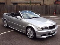 BMW 325 M SPORT CONVERTIBLE . NOT 330 320