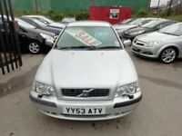Volvo S40,1783 cc 4 door saloon,full MOT,heated leather seats,CD player,Alloys,tow bar fitted