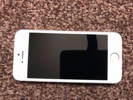 iPhone 5s Silver (Unlocked) - 16GB