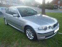 2004(54) BMW 316TI MOT MAY 2017 FULL SERVICE HISTORY