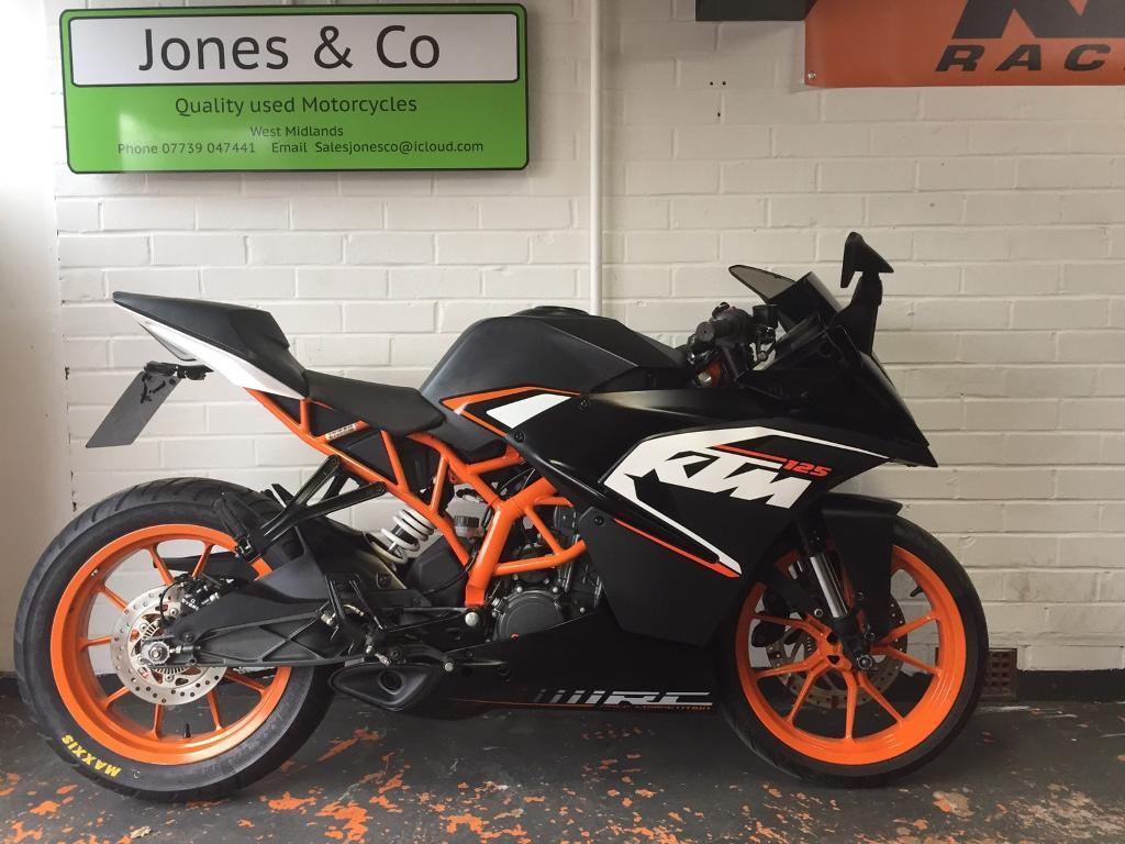 ktm rc 125 2015 black 3981 miles delivery available in redditch worcestershire gumtree. Black Bedroom Furniture Sets. Home Design Ideas