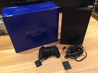 Playstation 2, Controller, 9 Games & Power Cable