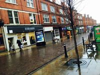 FOR SALE in WIGAN Town Centre - Retail Shop with extensive upper floors - Busy street