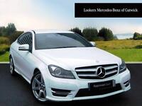 Mercedes-Benz C Class C180 AMG SPORT EDITION (white) 2014-05-07