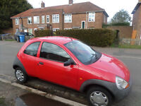 Ford Ka red.. need MOT for spares or repairs ..working well...£ 150