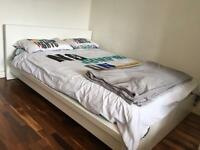 Double bed IKEA MALM