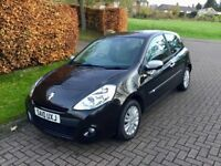 2010 Renault Clio 1.2 16v i-Music. Very Low Mileage. 12 Months MOT.