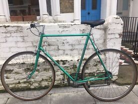 Carlton bike 1970s frame and All accessories! Everything you need to get you on the road!