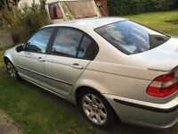 52 BMW 320D SPARES OR REPAIR LEATHER ALLOYS PROJECT
