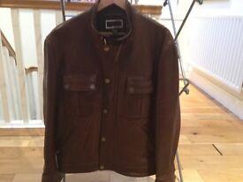 Men's Michael Kors leather jacket