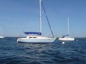 """Hunter Delta 25 foot yacht """"Orion"""""""