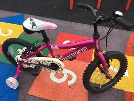 Saracen Bella little girls bicycle