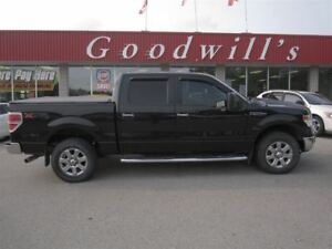 2014 Ford F-150 XLT! CREW! 4X4! LEATHER SEATS! BLUETOOTH!