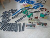 Tomy train and canal track.