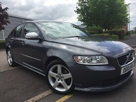 2010 VOLVO S40 R-DESIGN 20.D FULL SERVICE HISTORY, HPI CLEAR, CRUISE CONTROL, BLUETOOTH