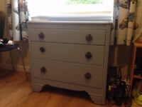 Blue chest of drawers - Collection - Pending