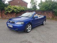 2003 Vauxhall Astra Convertible Turbo