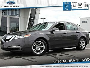 2010 Acura TL *AUTOMATIQUE*CUIR*TOIT*A/C 2 ZONES*CRUISE**